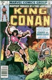 King Conan (1980) -4- Shadows in the Skull!