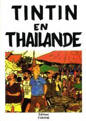 Tintin - Pastiches, parodies & pirates -1a- Tintin en Thaïlande