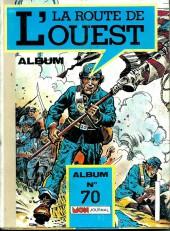 La route de l'Ouest -Rec70- Album n°70 (du n°163 au n°165)