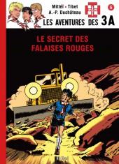 3 A (Les aventures des) -36TL- Le secret des falaises rouges