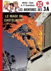 3 A (Les aventures des) -61TL- Le mage de Castelmont