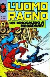 L'uomo Ragno V1 (Editoriale Corno - 1970)  -148- Un dinosauro a Broadway