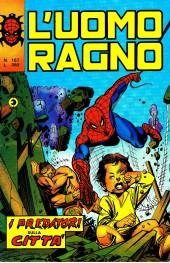 L'uomo Ragno V1 (Editoriale Corno - 1970)  -167- I predatori sulla cittá