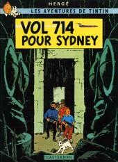 Tintin (Historique) -22C1- Vol 714 pour Sydney
