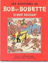 Bob et Bobette -19- Le mont rugissant