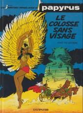 Papyrus -3b94- Le colosse sans visage