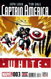 Captain America: White (2008) -3- A hole in the head