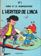 Le scrameustache -1a1988- L'héritier de l'Inca
