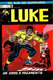 Albi dei Super-Eroi (Gli) -7- LUKE: Un Eroe a Pagamento
