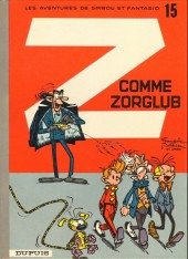 Spirou et Fantasio -15e89- Z comme zorglub