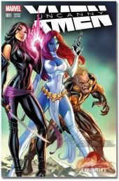Uncanny X-Men (2016) -1B- Uncanny X-Men #1