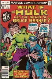 What If? vol.1 (1977) -2- What if the Hulk had the brain of Bruce Banner