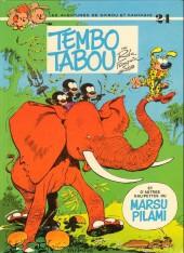 Spirou et Fantasio -24b81- Tembo tabou