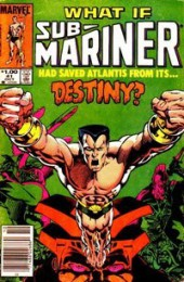 What If? vol.1 (1977) -41- What if Submariner had saved Atlantis from its destiny