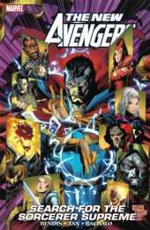 New Avengers (The) (2005) -INT11a- Search for the Sorcerer Supreme