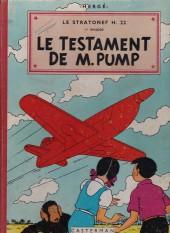 Jo, Zette et Jocko (Les Aventures de) -1B27b- Le testament de M. Pump