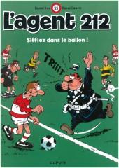 L'agent 212 -11c2011- Sifflez dans le ballon !
