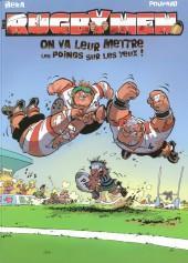 Les rugbymen -1FL- On va leur mettre les poings sur les yeux !