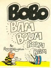 Bobo -MR1647- Bam boum boum boum
