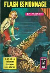 Flash espionnage (1re série) -3177- Recueil 3177 (53-56)