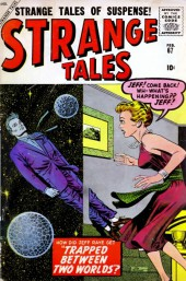 Strange Tales (Marvel - 1951) -67- Trapped Between Two Worlds!