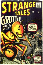 Strange Tales (Marvel - 1951) -73- Grottu! King of the Insects!