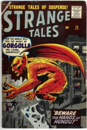 Strange Tales (1951) -74- Gorgolla! the Living Gargoyle!!