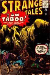 Strange Tales (Marvel - 1951) -75- I am Taboo!