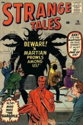 Strange Tales (Marvel - 1951) -78- Beware! A Martian Prowls Among Us!