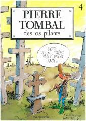 Pierre Tombal -4a1998- Des os pilants