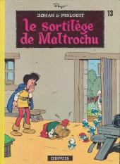 Johan et Pirlouit -13b83- Le sortilège de Maltrochu