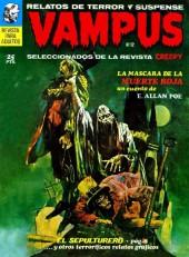 Vampus (Creepy en espagnol) -12- La máscara de la muerte roja/El sepulturero