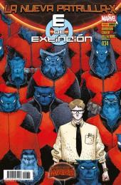 La nueva Patrulla-X -34- E de Extinción - Secret Wars