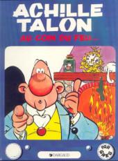 Achille Talon -12a82- Achille talon au coin du feu...