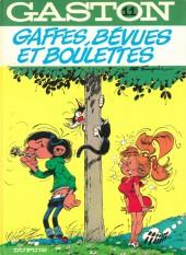Gaston -11c1983- Gaffes, bévues et boulettes