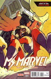 Ms. Marvel (2016) -4- Army Of One part 1 of 3