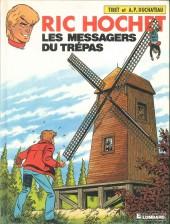 Ric Hochet -43a90- Les messagers du trépas