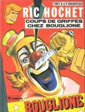 Ric Hochet -25b90- Coups de griffes chez bouglione