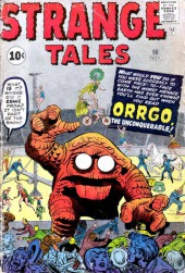 Strange Tales (Marvel - 1951) -90- Orggo, the Unconquerable!