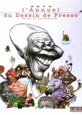 L'almanach du Dessin de Presse et de la Caricature -2014- L'Almanach du Dessin de Presse et de la Caricature