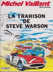 Michel Vaillant -6e1996- La trahison de Steve Warson