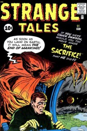 Strange Tales (Marvel - 1951) -91- The Sacrifice!