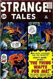 Strange Tales (Marvel - 1951) -92- The Thing waits for Me!