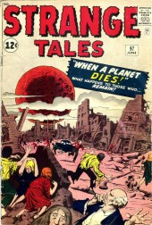 Strange Tales (Marvel - 1951) -97- When a Planet Dies!