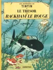 Tintin (Historique) -12C8- Le trésor de Rackham Le Rouge