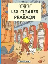 Tintin (Historique) -4C8- Les cigares du pharaon