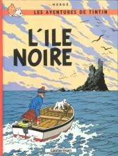 Tintin (Historique) -7C8- L'île noire