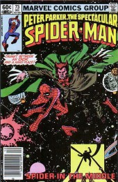 Spectacular Spider-Man (The) (1976) -73- Spider in the Middle