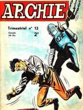 Archie (Jeunesse et Vacances) -13- Un duel entre géants