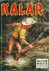 Kalar -REC36- Collection reliée N°36 (du n°182 au n°185)